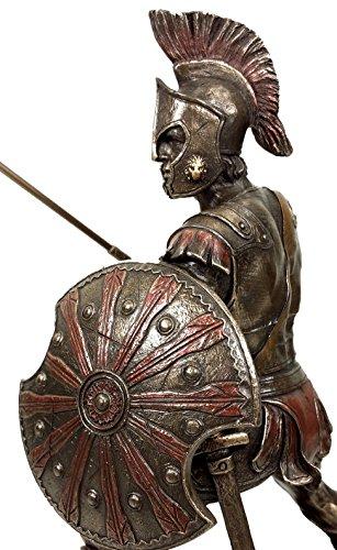 Hector Cold Cast Bronze 9 1//8 Tall Trojan Prince In The Trojan War