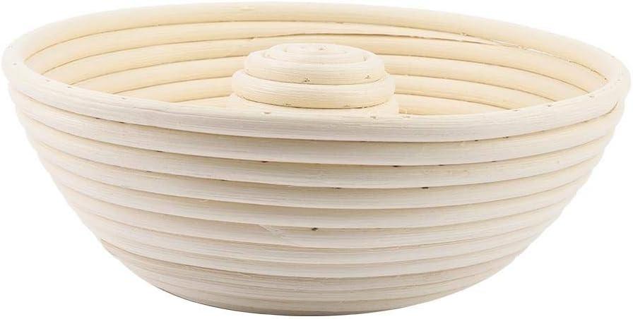 cesta hueca para pan cesta de mimbre Cesta para pan a prueba de banneton herramienta para hornear para hacer masa de pan de masa de masa de masa de masa