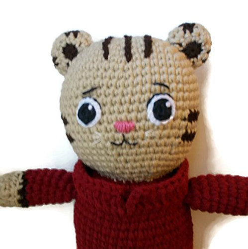 Amazon Tiger Doll Plush Gift Amigurumi Tigey Handmade