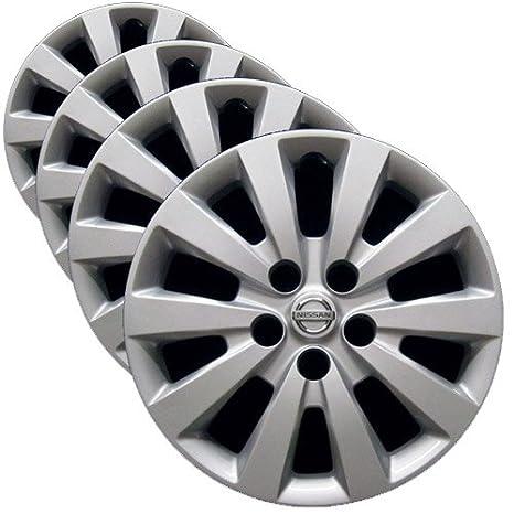 OEM Nissan rueda – juego de funda nórdica (fábrica de repuesto tapacubos para 2013 –