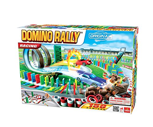 Domino Rally Racing   Dominoes For Kids   Stem Based Learning Set