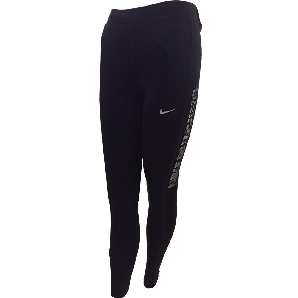 Nike Essential Running Tight Womens Leggings Pants (Black, Medium)