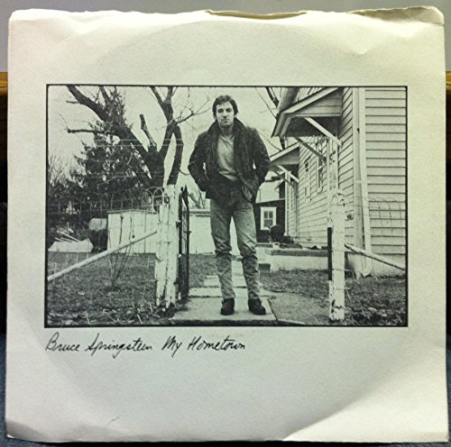 (BRUCE SPRINGSTEEN My Hometown / Santa Claus Is Comin To Town 45 rpm single)