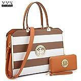 MMK collection Women Fashion Matching Satchel handbags