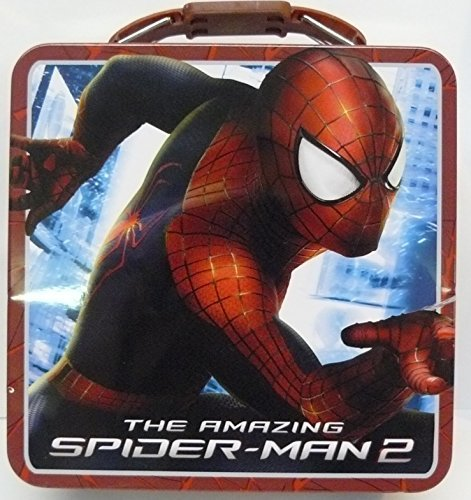 The Amazing Spiderman Tin Box by Marvel (Box Man Spider Tin Lunch)