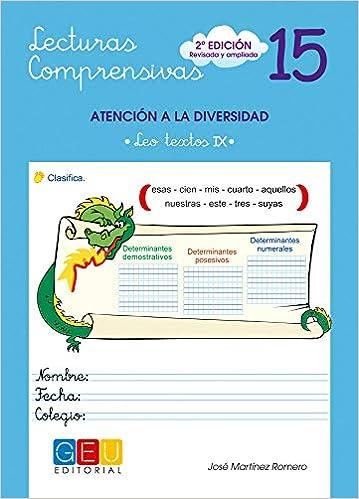 Lecturas comprensivas 15 / Editorial GEU / 4º Primaria ...