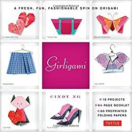 Girligami Kit: 60 High-Quality Origami Papers