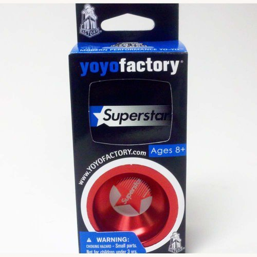 YoYoFactory SuperStar Yo-Yo -New Design- Red by YoYoFactory
