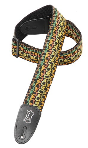 Levy's Leathers 2 Jacquard Weave Hootenanny Guitar Strap,
