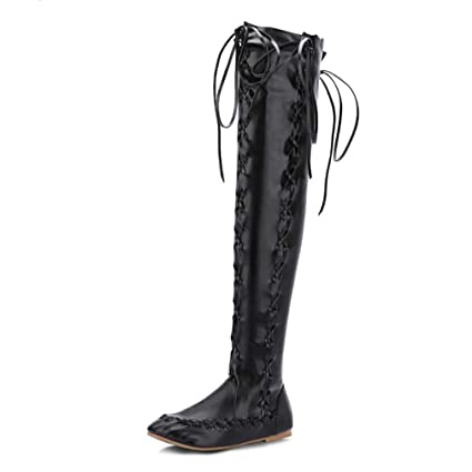 94ab1bdb11b Amazon.com: Hy Women's High Boots Artificial PU Spring/Fall / Winter ...