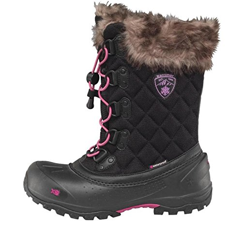 Womens Snow EUR Black 39 Alaska Weathertite 5 UK Girls 6 Ladies 6 Karrimor Boots qSPrtFSw
