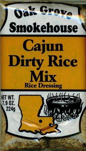 Oak Grove Smokehouse Cajun Dirty Rice Mix (5 Pack of 7.9 Ounce Bags)