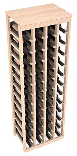 Wine Racks America Ponderosa Pine 48 Bottle Table Top. 13 Stains to Choose From!