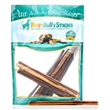 USA 12-inch Odor-Free Bully Sticks by Best Bully Sticks (10 Pack) Made in America of All-Natural, Free Range, Grass Fed Beef - Free of Any Hormones or Additives - USDA/FDA Approved