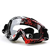 IFLYING Snow Skiing Snowboarding Motocross Anti-Fog Goggles Dustproof Scratch-Resistant Bendable Unisex Goggles