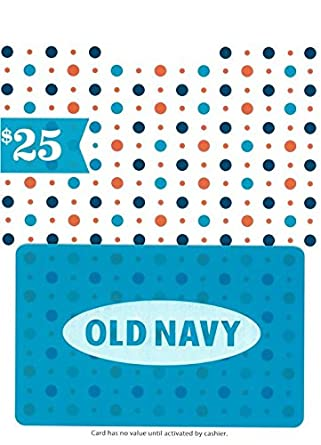 6acf9af7706 Amazon.com  Old Navy  25 Gift Card  Gift Cards