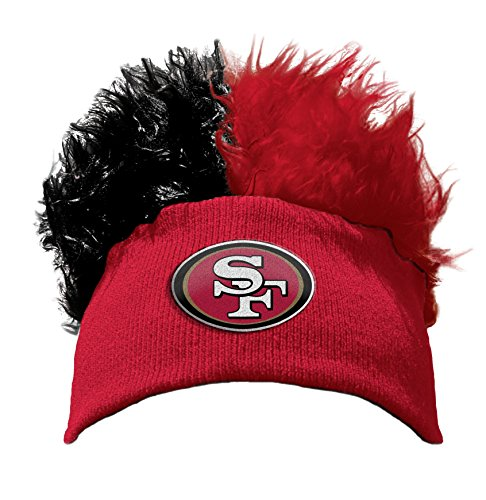 The Northwest Company Officially Licensed NFL San Francisco 49ers Flair Hair Beanie Cap