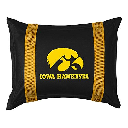 NCAA Iowa Hawkeyes Sideline Sham (Iowa Hawkeyes Pillow)