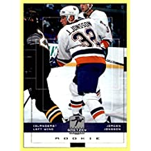 1999-00 Upper Deck Wayne Gretzky Hockey #104 Jorgen Jonsson RC NEW YORK ISLANDERS ROOKIE