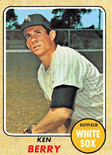 Baseball MLB 1968 Topps #485 Ken Berry EX-MT White Sox