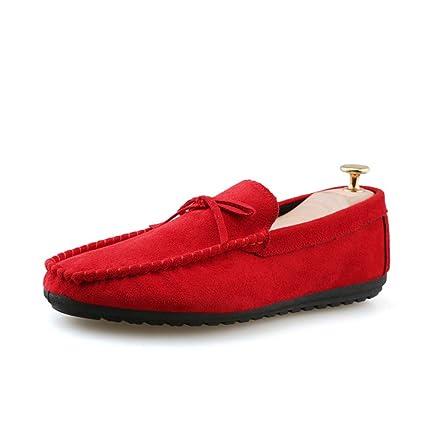 Zapatos Mocasines para hombre 2018 Mocasines de moda para hombre para gamuza casual transpirable Faux Fleece