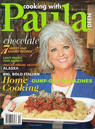 Cooking With Paula Deen, January/February 2011-Big, Bold Italian Home (Ginger Glazed Chicken)