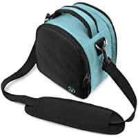 Sky Blue VanGoddy Laurel SLR Camera Carrying Bag for Canon EOS Rebel SL1 Digital SLR Camera