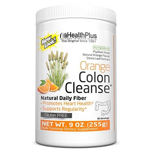 Health Plus Colon Cleanse, Orange Flavor, 9-Ounces, 36 Servings