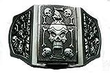 Pirate Skull lighter Metal belt buckl