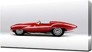 Lilarama USA 1952 Alfa Romeo C52 Disco Volante Touring Spider V2 - Canvas Art Print - Wall Art - Canvas Wrap