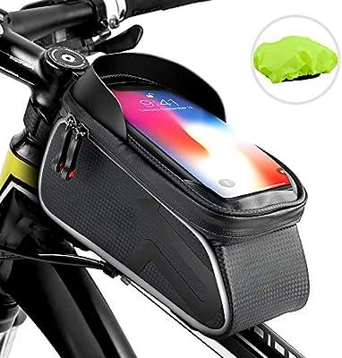 Amazon.com: Labrostar - Bolsa para marco de bicicleta, tubo ...