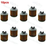 Fincos 10pcs/Pack Oil Filter for Kitaco Clutch Cover Honda Grom 125 KTC-1002