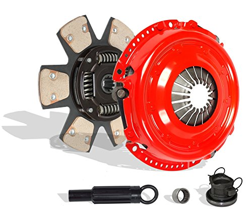Clutch Kit Works With Jeep Wrangler Liberty 65th Anniversary Edition Se Sport Unlimited X 65 Aniversario X Sport 2000-2006 4.0L L6 GAS OHV 3.7L V6 GAS SOHC Naturally Aspirated (6-Puck Disc Stage 3) 65th Anniversary Jeep Wrangler
