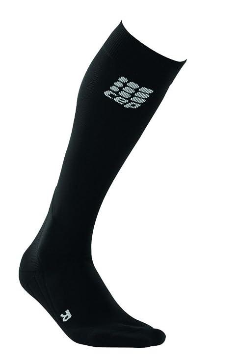 CEP Pro Plus - Calcetines altos de equitación para hombre negro negro/gris Talla: