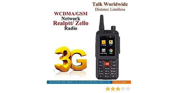 Amazon.com: Anysecu F22/G22 Plus Dual SIM 3G WCDMA Zello PTT Walkie Talkie Mobile Phone 3500mAh 2.4Inch Touch Screen 512MB RAM 4GB ROM Android 4.4: Car ...