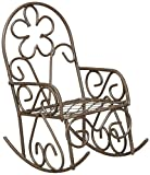 Darice Metal Rocking Chair, Rusty Color Review