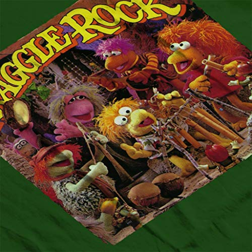 Green Women's Sweatshirt Bottle Retro Fraggle Rock Fraggles tqwcSYp