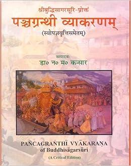 Panchagranthi Vyakarana Of Buddhisagara Suri por Narayan M. Kansara epub