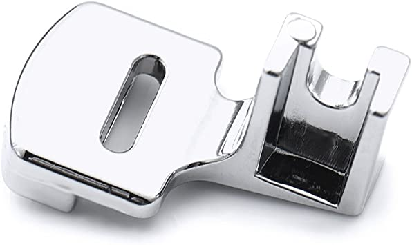 Sundlight acero inoxidable prensatelas Máquina de coser eléctrica prensatelas ruffling: Amazon.es: Hogar