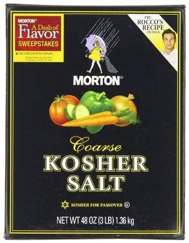 Mortons Salt Kosher
