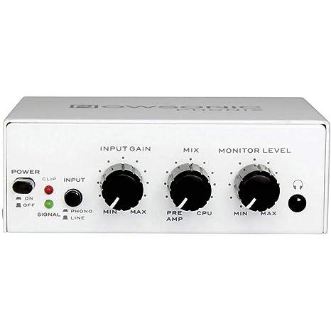 Nowsonic 309423 Phonix - Preamplificador phono