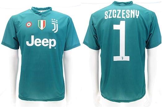 Camiseta de Fútbol Wojciech SZCZĘSNY Portero 1 Juventus Home ...