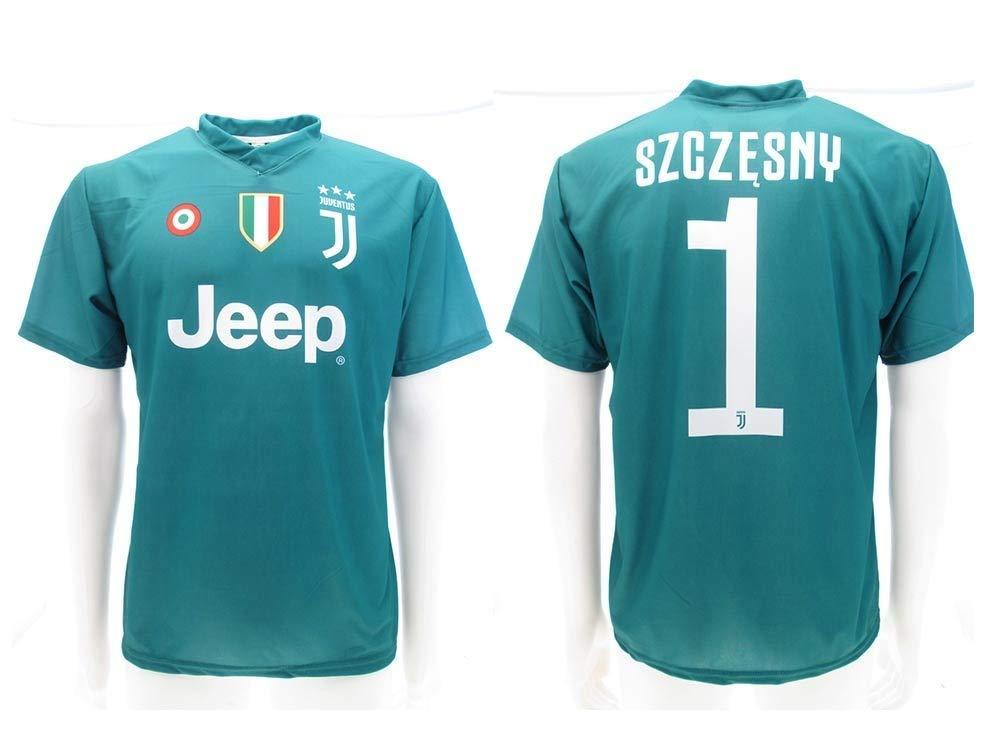 Camiseta de Fútbol Wojciech SZCZĘSNY Verde Portero 1 ...