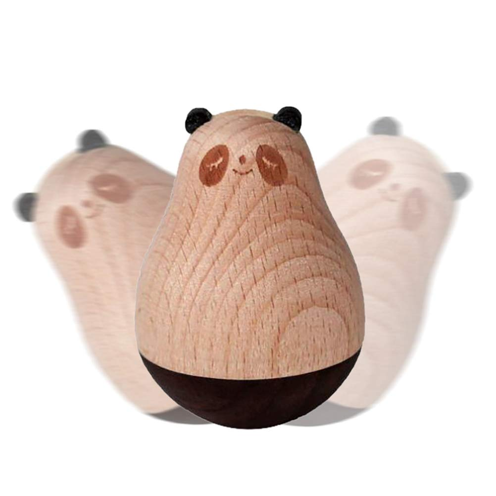 Auplew Trommel Spielzeug H/ölzernes Pinguin Panda Elch Geschenk zur zum Geburtstag f/ür Kindergeschenk