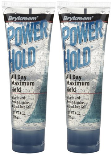 Brylcreem Power Hold Hair Gel, 4 oz, 2 pk by Brylcreem