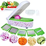 LHS Vegetable Chopper,Pro Onion Chopper Slicer Dicer Cutter - Cheese & Veggie Chopper - Food Chopper...