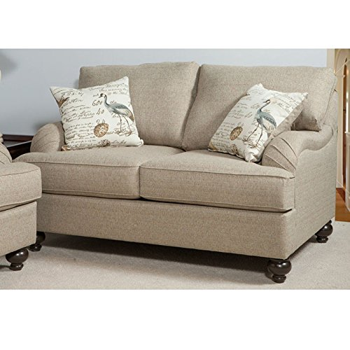 Clare Loveseat in Beige