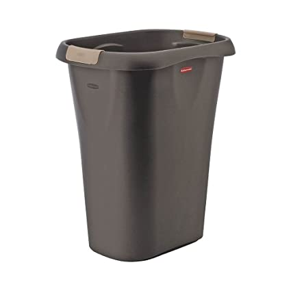 21 Qt Large Open Wastebasket Fascinating Amazon RUBBERMAID FG60L60CSHM Large Open Wastebasket With