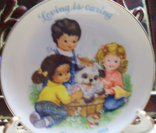 1989 Avon Mother's Day Plate