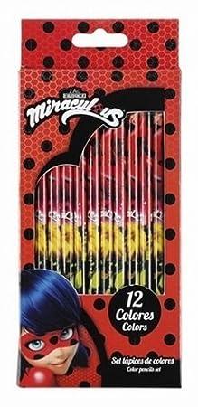 Miraculous Mariquita estuches, DIARIO Set regalo, CUBILETE para bolígrafos Set regalo, plumas de sello, lápices de colores y tijeras: Amazon.es: Juguetes y ...